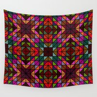 mosaic Wall Tapestries featuring Mosaic by David Zydd