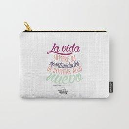 Positive Phrase (ESPAÑOL) Carry-All Pouch