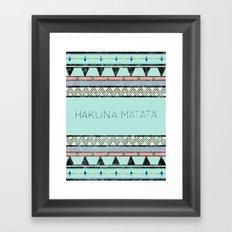 Hakuna Matata Framed Art Print