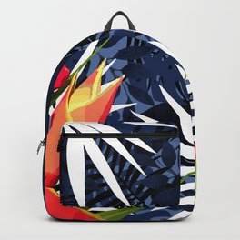 Bold Tropical Paradise Design Backpack
