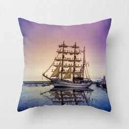 Sail Boston -Guayas Throw Pillow