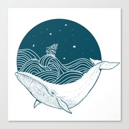 Whale dream Canvas Print