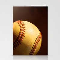 baseball Stationery Cards featuring Baseball by Janice Sullivan