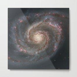 Whirlpool Galaxy Metal Print