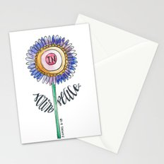 sown in peace Stationery Cards
