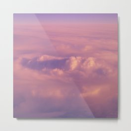 Cotton Candy III Metal Print