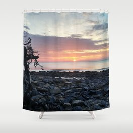 Jekyll Island Sunrise Shower Curtain