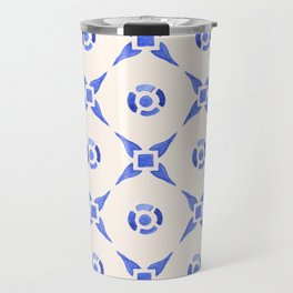 Vintage Delftware Travel Mug