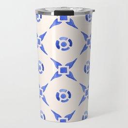 Vintage Delftware Travel Mug