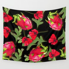 dragon fruit Wall Tapestry