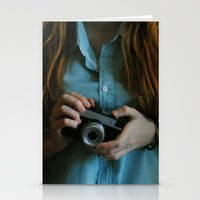 photographer Stationery Cards featuring Photographer by Jelena Pejovic