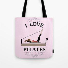 I love pilates Tote Bag
