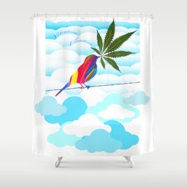 Elevate Your Vibe Shower Curtain
