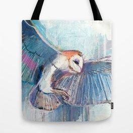 Broken Owl Tote Bag