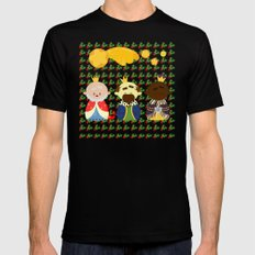 Three Kings (Reyes Magos) Mens Fitted Tee SMALL Black