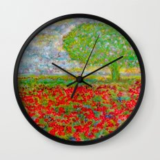 I blossomed... just because I can Wall Clock