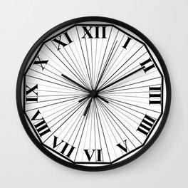 Roman numeral clockface Wall Clock