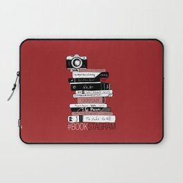 # BOOKSTAGRAM (Burgundy) Laptop Sleeve