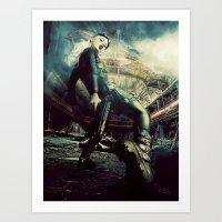metal gear Art Prints featuring Metal Gear by Christel Michiels - Darkyria Design