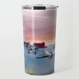 Landscape of Motif #1 (Rockport, Ma) Travel Mug