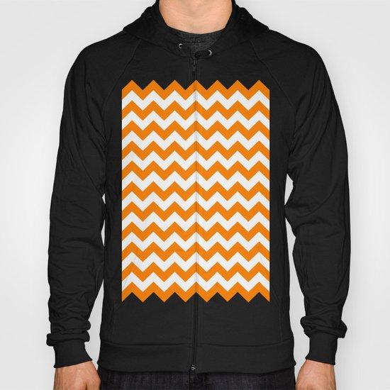 Chevron (Orange/White) Hoody
