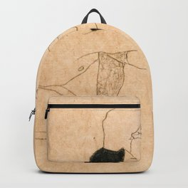 Egon Schiele Lovers Backpack