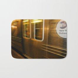 New York City subway Bath Mat