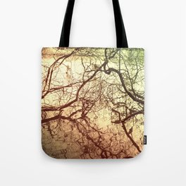 Branches With Reflections Tote Bag
