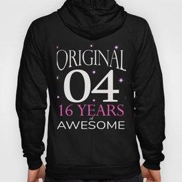 Top Girls 16th Birthday Original 04 Gift Design new Hoody