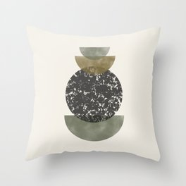 Modern Shapes Throw Pillow