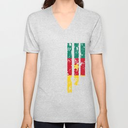 Proud Of Cameroon - CMR Unisex V-Neck