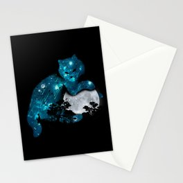 I can haz the moon Stationery Cards