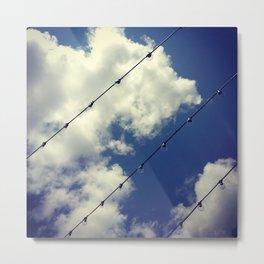 Sky Lights Metal Print