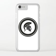 Fight, work out, Helmet Clear iPhone Case