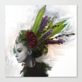 Great Hair Day Canvas Print