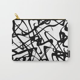 smooth black loops Carry-All Pouch