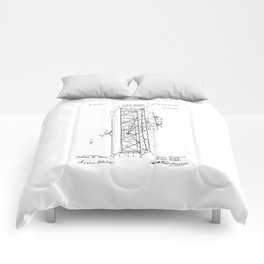 Wright Brothers Patent: Flying Machine Comforters