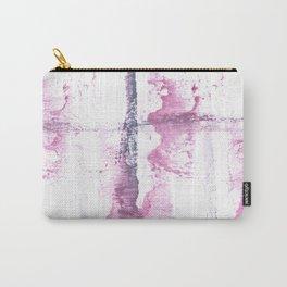 Lavender blush vague watercolor Carry-All Pouch
