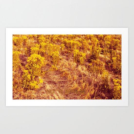 Back to Pepperland. Art Print