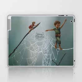 Spider web Laptop & iPad Skin