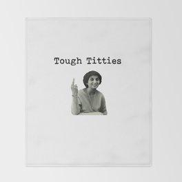Tough Titties Ma Anand Sheela Wild Wild Country Throw Blanket