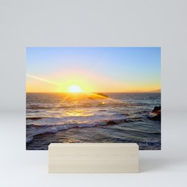 Ocean Beach, CA Mini Art Print