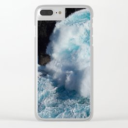 Shetland Sea I Clear iPhone Case
