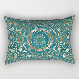 Moroccan Style Mandala Rectangular Pillow