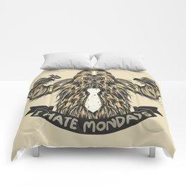 Chewie I Hate Mondays Comforters