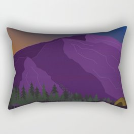 Mountain Vibes Rectangular Pillow