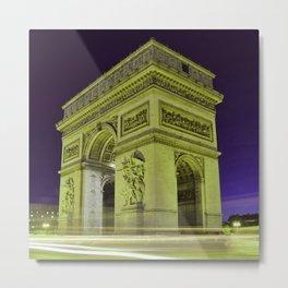 Arc_de_Triomphe_2015_0402 Metal Print
