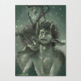 Satyriasis Canvas Print