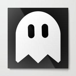 See The Ghost Metal Print