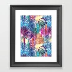 Watercolors&Dreamcatchers Framed Art Print